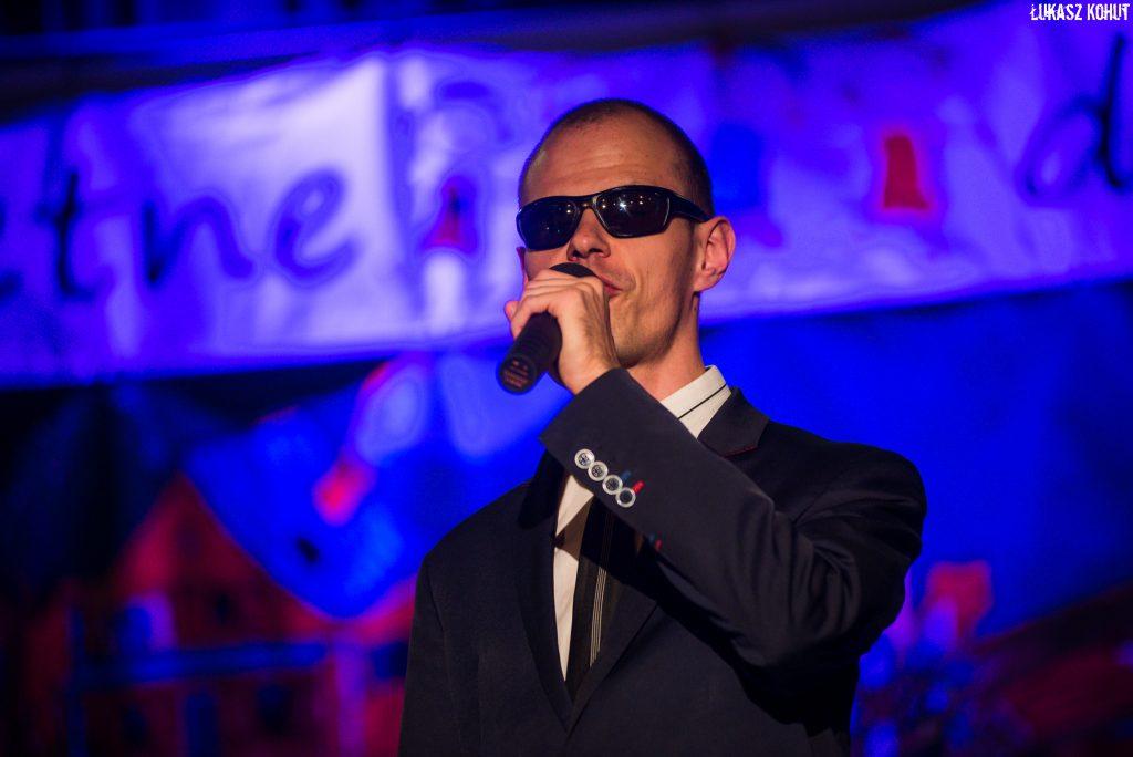 Szymon Wasiłowicz wystapił na koncercie grupy integracyjnej Świetne Dzieciaki