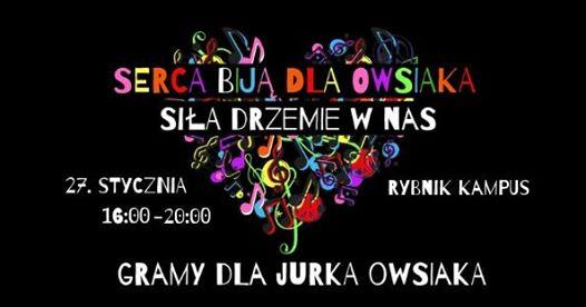 Gramy dla Jurka Owsiaka