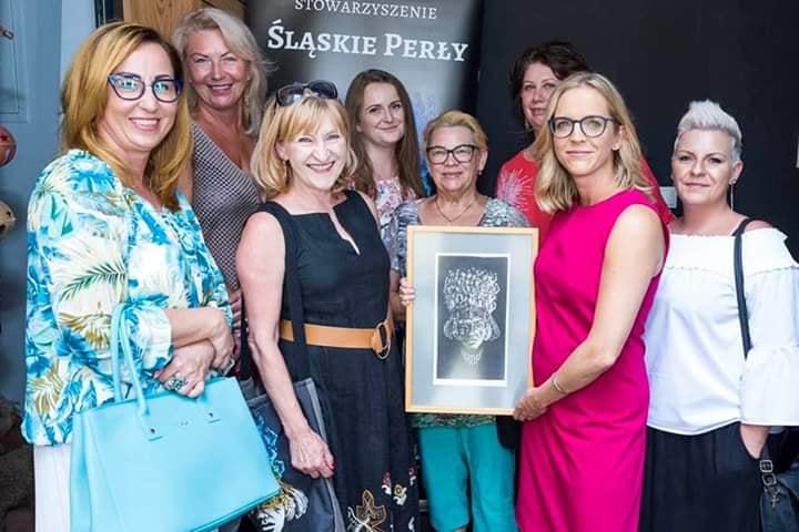 Małgorzata Trzaskowska w Rybniku na spotkaniu ze stowarzyszeniem Śląskie Perły